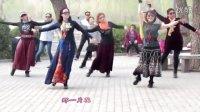 紫竹院广场舞——为你等待(带歌词字幕)