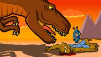 原创动画《恐龙的宿敌》第3集:新的怪物之王