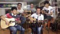 第12节 快歌切音技巧《童年》叶冠星 一月通吉他教学 翼音琴行