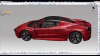 Catia Imagine and shape- Ferrari Concept - Antonio Pezzella