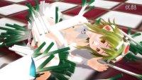 【紳士用MMD】GUMIはネギを何本持って踊れるのか検証する動画