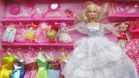 亲子游戏过家家 芭比娃娃 芭比 美丽的芭比百变造型 芭比公主动画片