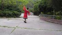 绿叶子广场舞 再唱山歌给党听 正面+背面+分解动作(改编)