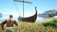 方舟生存进化-虾米-瓦哈拉生存01,第一位小伙伴