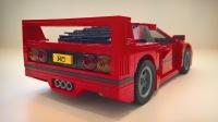 LEGO Ferrari F40【巴特曼动手玩】
