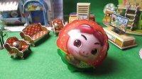 猪猪侠百变联盟 神木猿 拆奇趣蛋 惊喜蛋 出奇蛋 小猪佩奇卡片 布丁果冻 回力小汽车玩具