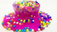 彩色水晶彩泥糖果画 猪猪侠芭比娃娃合作糖果画 粉红猪小妹超级飞侠海底小纵队