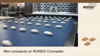 RONDO瑞士龙都Cromaster迷你牛角包生产线Mini croissant