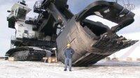 [工程机械] 世界最大巨型机械挖掘机 P&H 4100C Boss