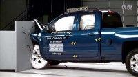 2016雪佛兰Silverado 1500 小重叠IIHS的碰撞测试