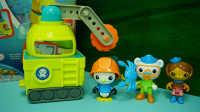 海底小纵队 皮医生的章鱼锯车 海底总动员 海底探险队 迪士尼 玩具