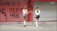 国外妹纸舞步集锦