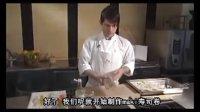挪威厨师制作三文鱼寿司