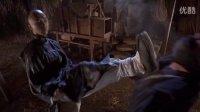 铁马骝 甄子丹夜巷大战恶僧 高难度腿法展示 无影脚弹簧腿三连踢