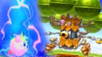 【屌德斯解说】 星之卡比机械星球 雷神大战巨型大树机器人BOSS
