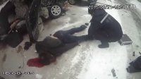 黑龙江省伊春市上甘岭区一重特大交通事故现场