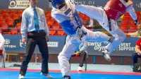 2016欧洲跆拳道锦标赛女子46KG决赛乌克兰VS西班牙