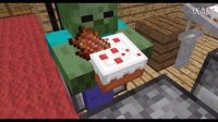 怪物学校-做蛋糕- Minecraft动画