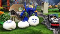 【奇趣箱】托马斯小火车的好朋友萨姆森和超级飞侠酷飞一起拆橡皮泥,快来看看吧(第一集)