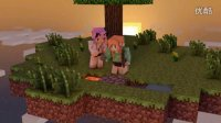 【大橙子五歌】我的世界1.10预览版双人空岛生存-2这里的猪会飞!