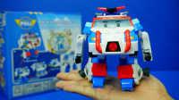 变形警车珀利 太空超侠珀利 迪士尼 玩具 变形机器人
