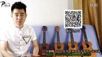 Ukulele零基础入门第2课(选琴篇):认识不同配置ukulele的差异 张sir 子熏乐器
