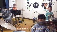 《吴俊秀爵士鼓集体课教程》示范曲目一《四分音符》