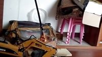 汇纳15通遥控挖掘机  DIY吊车