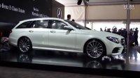2017款全新奔驰 E级旅行版以及 E43 AMG全球首发视频