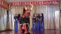 盛秀清原创群舞Meleya 女人《为你痴狂》武汉肚皮舞教练培训