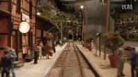 铁路 和 火车 和 铁路模型