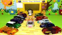【魔力玩具学校】第3集 不许欺负飞翼天马(威甲车神烈破炎龙翡翠石龙惊天神鹫 撼地神像)自动变形玩具车机器人爆裂飞车