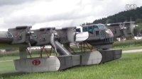"""巨大的苏联怪物,加里宁 K-7 """"空中堡垒""""遥控模型,6米翼展7引擎!"""