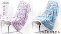 猫猫编织教程  风铃盖毯(2)钩针/棒针毛线编织教程#毛线编织教程#