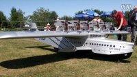 道尼尔 DO-X 水上飞机 巨无霸遥控飞机模型 惊人的12台发动机!