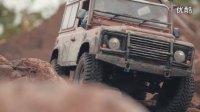 模型车路虎卫士D90越野攀爬车视频-RC4WD Galande II-Waffet RC channel攀爬_高清