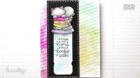 【卡片制作】猫咪书签卡DIY Bookmark Card (Zig Clean Color Real Brush Markers Series _1)