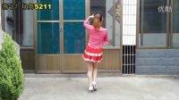 天在下雨我在想你 广场舞 燕子广场舞5211 附背面 简单易学  编舞:星语心愿