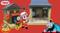 托马斯和他的朋友们小火车轨道配件-消防站
