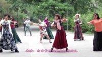 紫竹院广场舞——月夜(带歌词字幕)