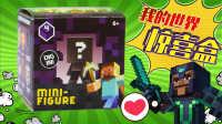 白白侠玩具秀:我的世界 惊喜盒拆箱第一弹