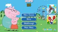★粉红猪小妹★粉红猪小妹小游戏:【跳跃的粉红小猪】 小猪佩奇 粉红猪小妹动画片