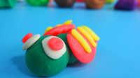 儿童益智彩泥夏天的知了 宝宝亲子游戏玩具过家家橡皮泥玩具视频