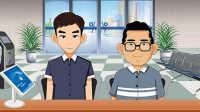 【第七区作品】传统flash-建设银行动画