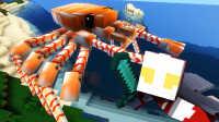 【屌德斯 我的世界】 我们是奥特曼 怪兽大乱斗飞龙对战巨型螃蟹