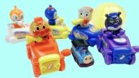 面包超人列车玩具运送奇趣蛋托马斯小火车