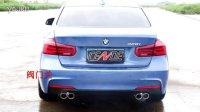BMW 328I 改装 CENDE森德排气 中尾段可变声音 阀门排气