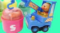 芭比娃娃咪露和面包超人拆扭蛋奇趣蛋 合金小车假面超人 粉红猪小妹熊出没海贼王