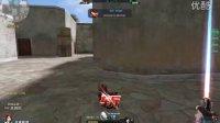 阿哲的生死狙击游戏视频:评测猎魔沙鹰,彩虹激光剑给力!最后有点悲剧,顶阿春。