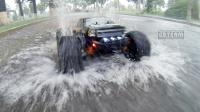 《超人聊模型》第十五期,全国暴雨,你需要一台全防水遥控车